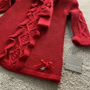 Tahari baby sweater